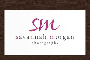 Savannah Morgan Photography Logo PSD