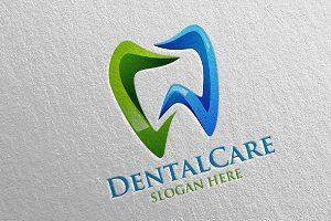 Dental Logo, Dentist stomatology 11