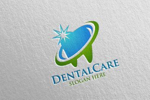 Dental Logo, Dentist stomatology 12