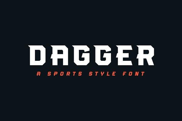 Dagger Stunning Display Fonts Creative Market