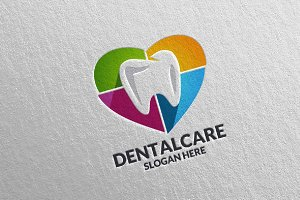 Dental Logo, Dentist stomatology 15