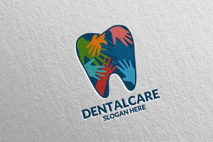 Dental Logo, Dentist Stomatology 16