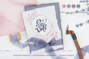 Wedding Vector Calligraphy