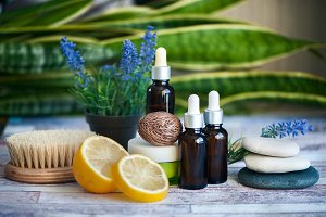Organic cosmetics, natural fruit oil