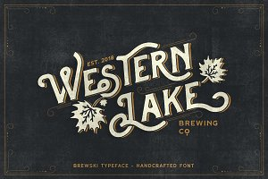 Brewski - Brewery Typeface