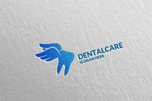 Dental Logo, Dentist Stomatology 20