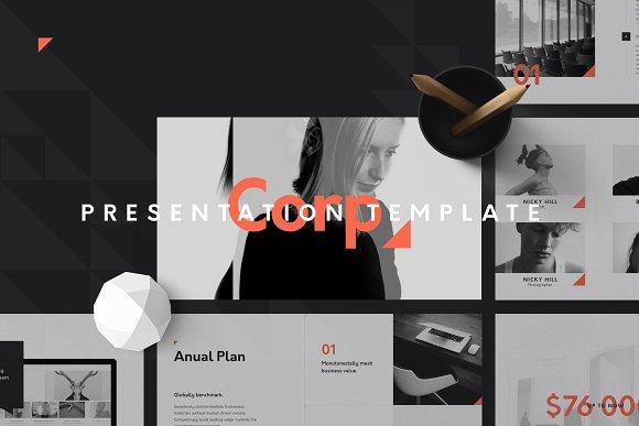 Corp. Keynote Presentation Template