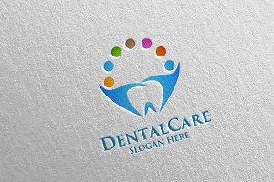 Dental Logo, Dentist Stomatology 24