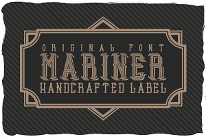 Mariner font + quotation