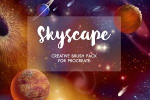 Skyscape Brush Toolkit for Procreate