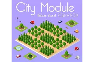 City module forest creator