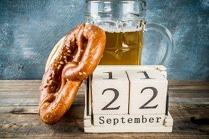 Oktoberfest celebration concept