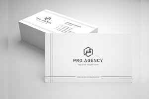 Pro-Agency Business Card