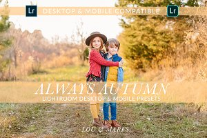 AUTUMN DESKTOP & MOBILE PRESETS