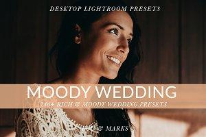 Moody Wedding Kit for Lightroom
