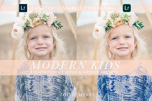 MODERN KIDS DESKTOP & MOBILE PRESETS