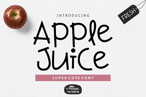 Apple Juice Fun Font