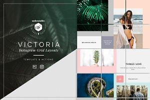 Victoria Instagram Posts Layouts