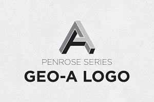 Geometric A Logo