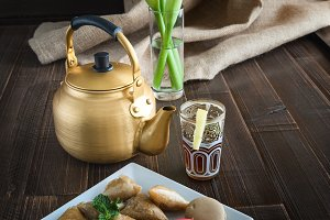 Arabic teapot