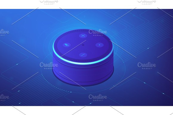 Isometric smart home controller
