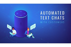 Isometric voice assistant automated