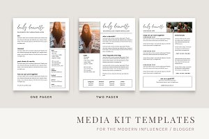 DANI | blog media kit & biz cards