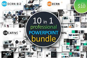 10 in 1 Powerpoint Bundle 90% off