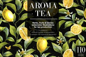 Aroma tea collection