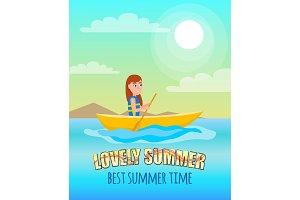 Lovely Summer Best Summertime Poster