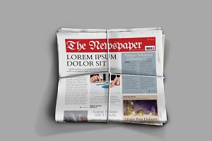 Indesign Newspaper Template