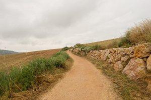 Camino de Santiago as it passes thro