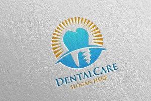 Dental Logo, Dentist Stomatology 26