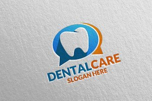 Dental Logo, Dentist Stomatology 27