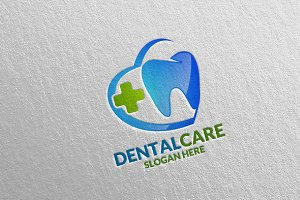 Dental Logo, Dentist Stomatology 28