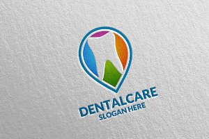 Dental Logo, Dentist Stomatology 30