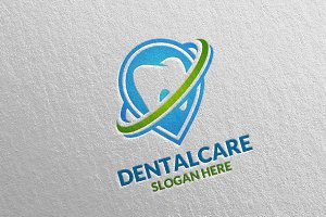 Dental Logo, Dentist Stomatology 31