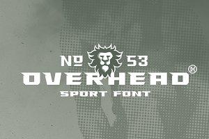 Overhead Typeface