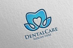 Dental Logo, Dentist Stomatology 32