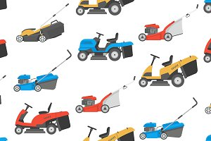 Lawnmower pattern