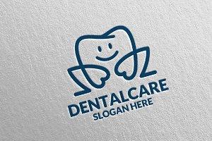 Dental Logo, Dentist Stomatology 33