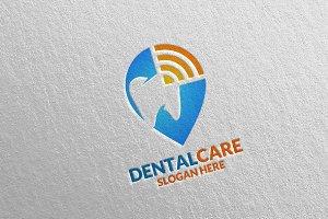 Dental Logo, Dentist Stomatology 34