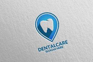 Dental Logo, Dentist Stomatology 35