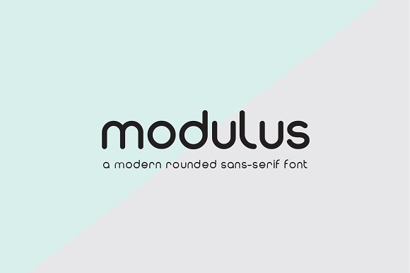 30 Rounded Fonts that Add Modern Simplicity ~ Creative Market Blog