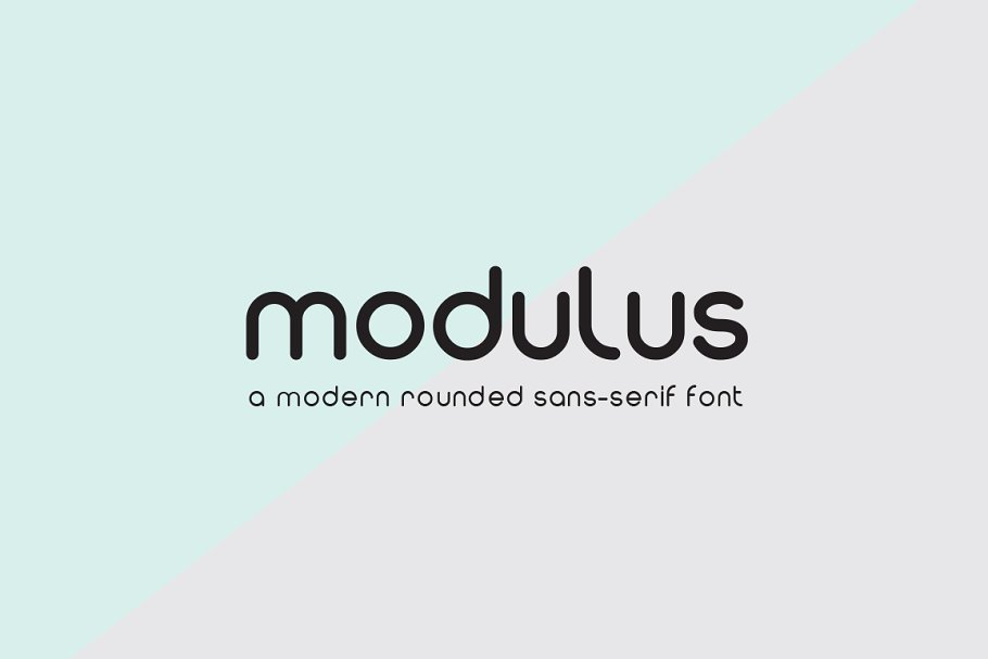 Modulus ~ Sans Serif Fonts ~ Creative Market