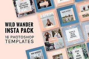 Wild Wander Instagram Pack