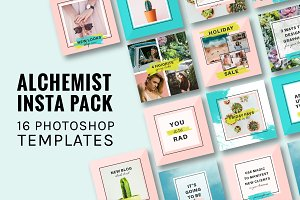 Creative Alchemist Instagram Pack