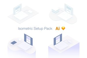 Isometric Setup Pack