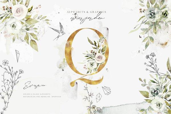 Evergarden Alphabets&Graphics