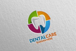 Dental Logo, Dentist Stomatology 38